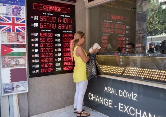 Epa Turkey Economy Currency Ebf Financial Business Services Tur