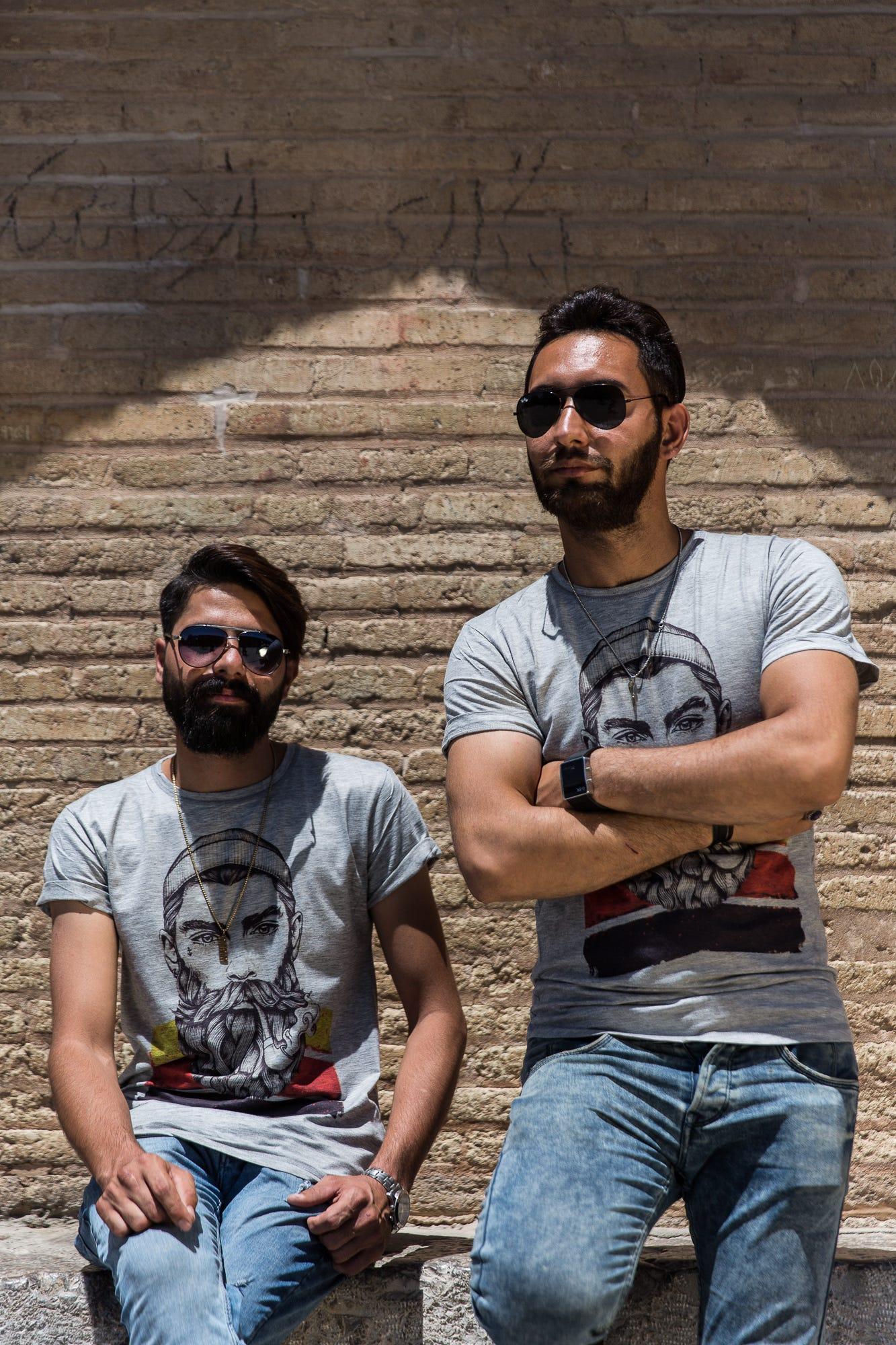 Iranian hipsters hang out in Isfahan. Some visitors might find it remarkable how similar Iran can be to the Western world.