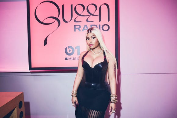 Nicki Minaj launched her Beats 1 radio show on Apple Music, Queen Radio, to celebrate the release of her forthcoming album.