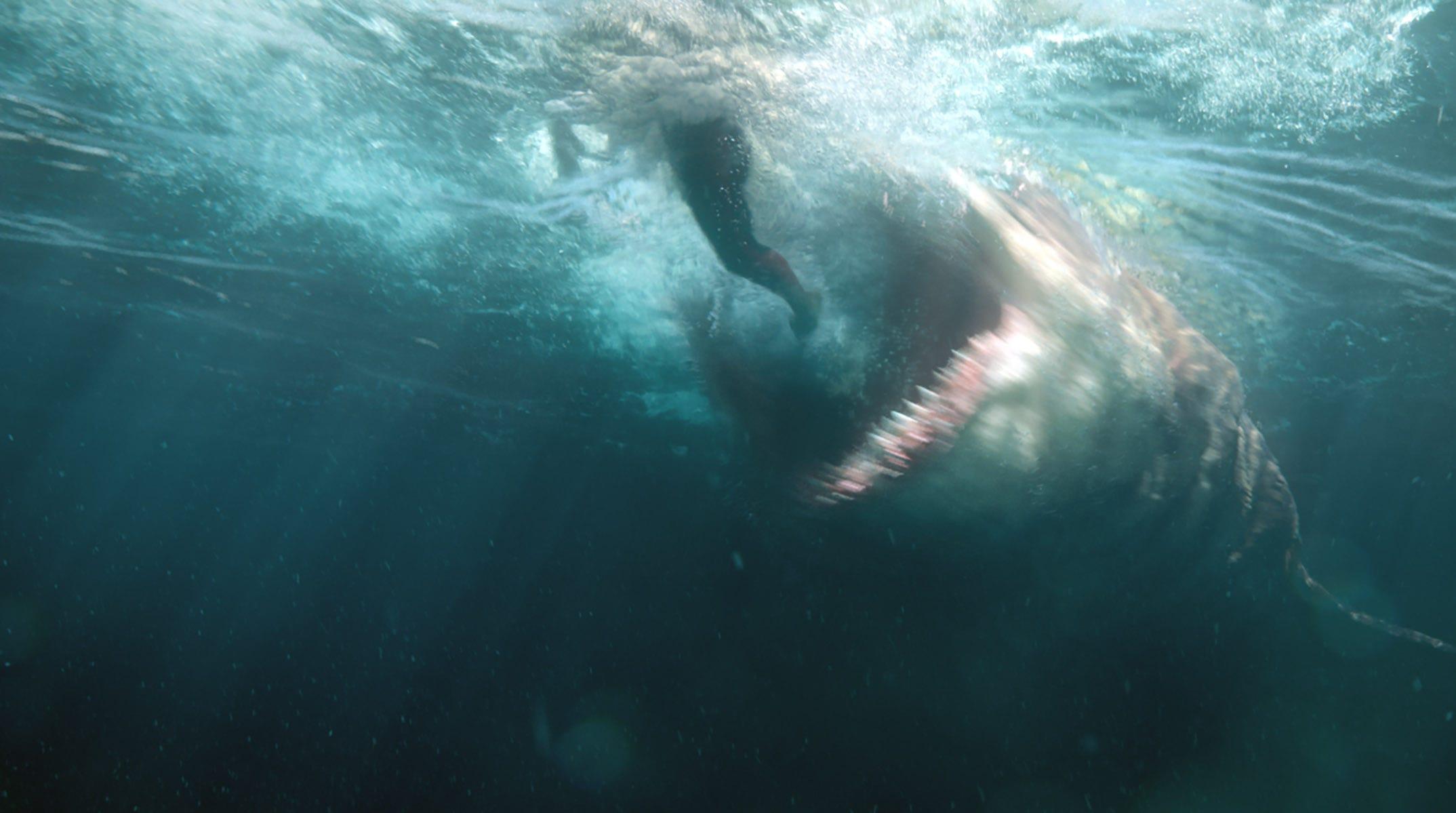 The Meg Spoilers Rainn Wilson On Shark Deaths That Bloody Ending