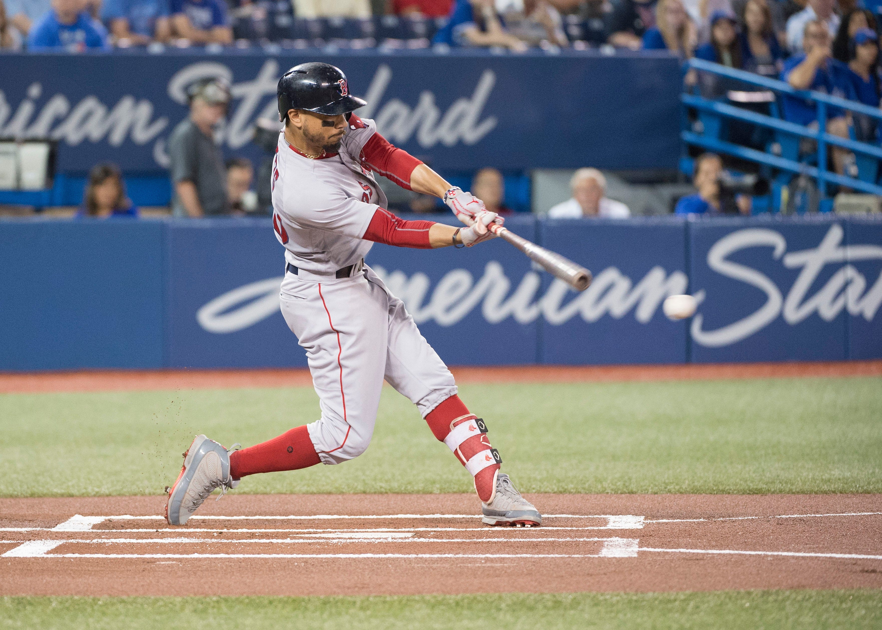 Red Sox's Mookie Betts hits for first cycle of MLB season and first of career