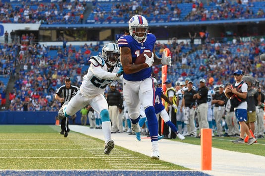 337e3f03f Usp Nfl Carolina Panthers At Buffalo Bills S Fbn Buf Car Usa Ny. Buffalo  Bills wide receiver ...