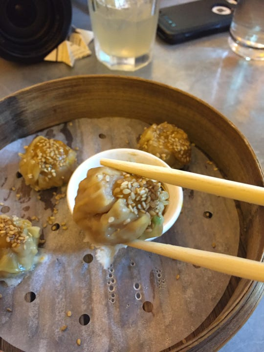 Dumplings from China Chilcano in Washington are among the dishes available during Metropolitan Washington Restaurant Week.