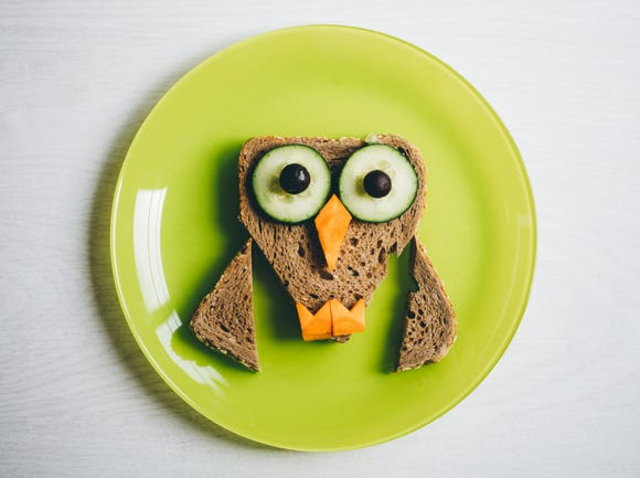 Making fancy lunches starts a dangerous precedence for what your kid will expect during the school year.