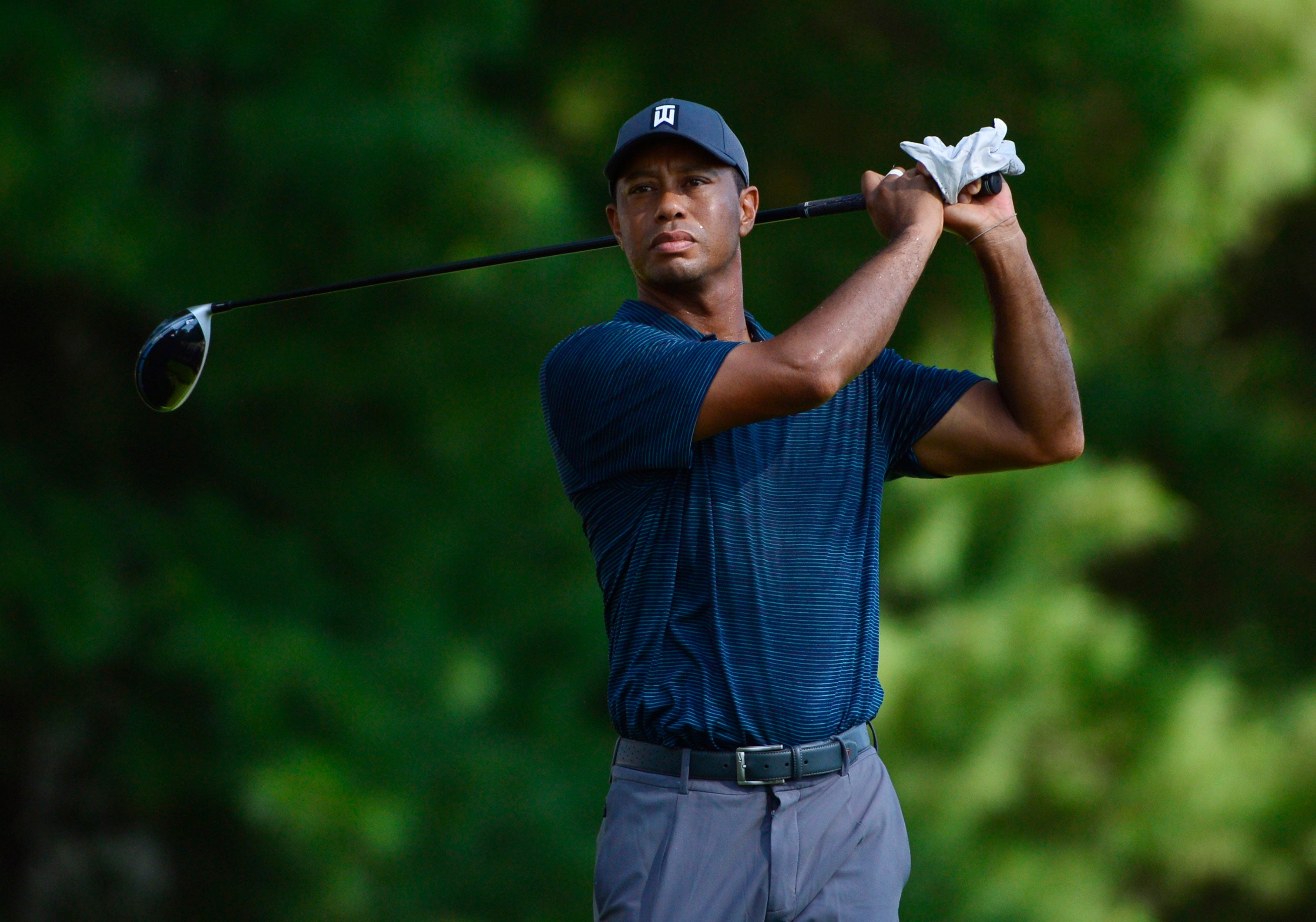Tiger Tracker: Follow along as Tiger Woods looks to make the cut Friday at the PGA Championship