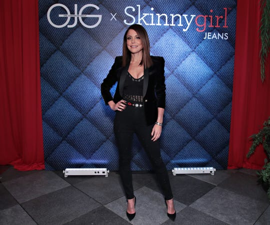 Bethenny Frankel attends the launch of Skinnygirl Jeans on Jan. 9, 2018 in New York City.