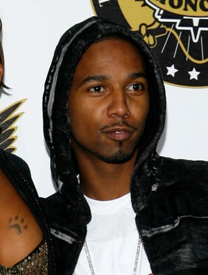 Rapper Juelz Santana, photographed in 2008, has pleaded not guilty to charges of possession of a firearm by a convicted felon and carrying a weapon on an aircraft.