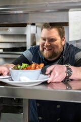 Chef Rusty Hamlin is executive chef for the Zac Brown Band.