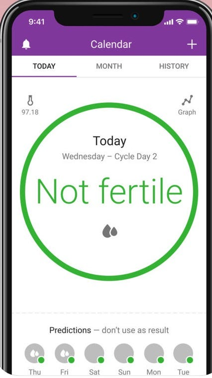 FDA clears marketing for app used to prevent pregnancy