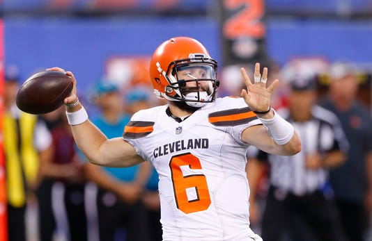 Nfl Cleveland Browns At New York Giants
