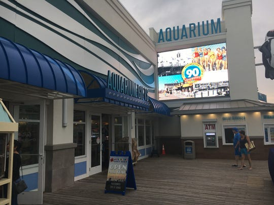 The Jenkinson's Aquarium gift shop in Point Pleasant Beach on Saturdary, Aug. 11, 2018.