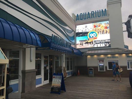 The Jenkinson's Aquarium gift shop in Point Pleasant Beach on Saturdary, Aug. 11, 2018.