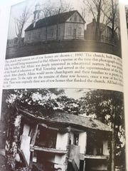 "Images of Allaire Village during the ""deserted"" period in the 1890s, from executive director Hance Sitkus' book ""Images of America -- Allaire."""