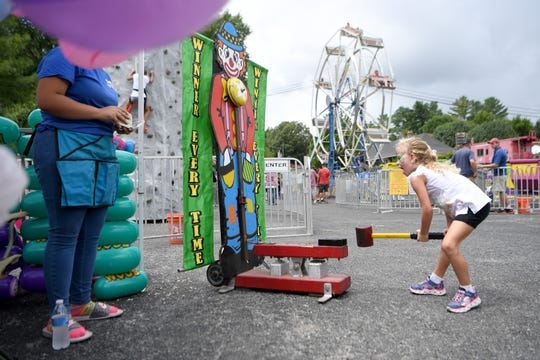 The 42nd annual Sourwood Festival, which returns to Black Mountain on Aug. 9 - 11, will feature games for people of all ages.