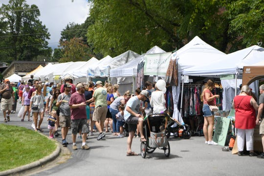 Dancing, music, games and lots of local arts and crafts will be featured when the Sourwood Festival returns to Black Mountain for its 42nd year on Aug. 9 - 11.
