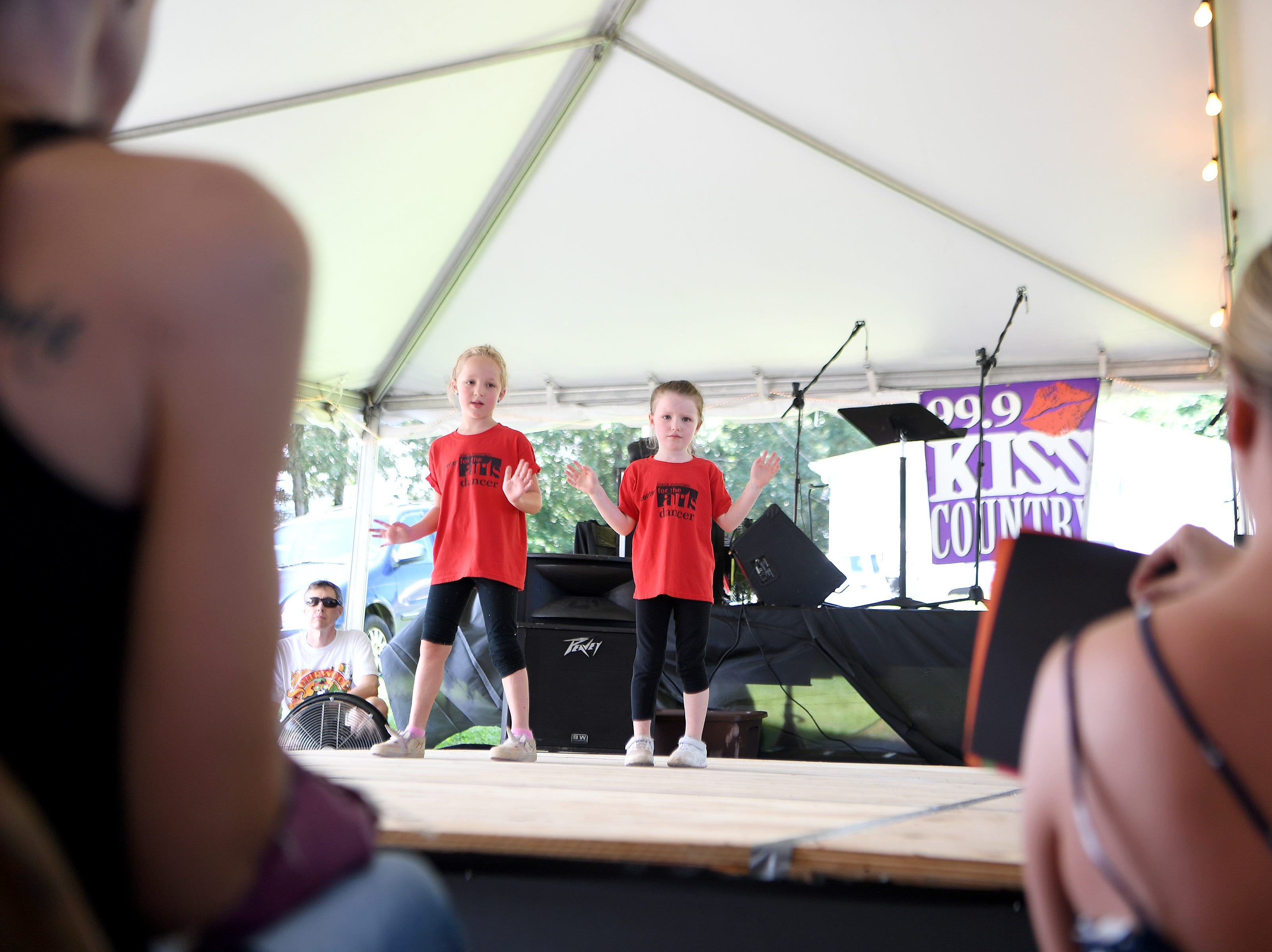 Dancing, music, games and lots of local arts and crafts were highlights of the 41st annual Sourwood Festival in Black Mountain on Saturday, Aug. 11, 2018.