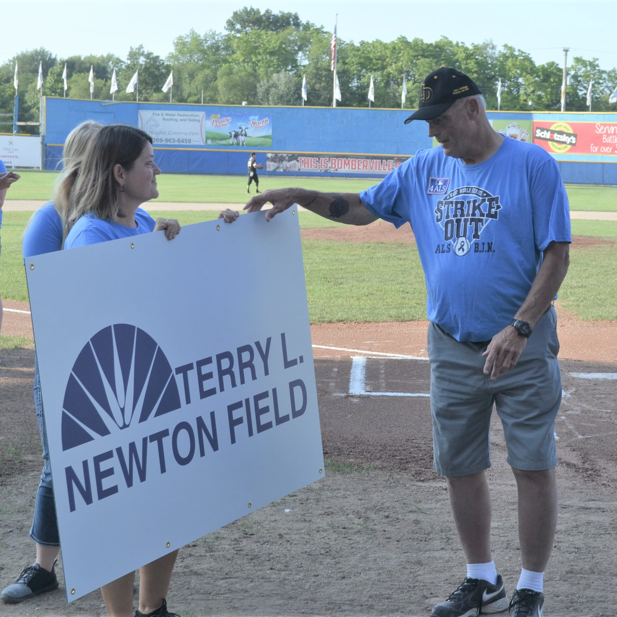 Newton humbled by latest addition to Bailey Park - Terry L. Newton Field