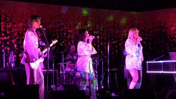 ABBAfab perform their ABBA tribute Aug. 23 at the Suquamish Clearwater Casino Resort.