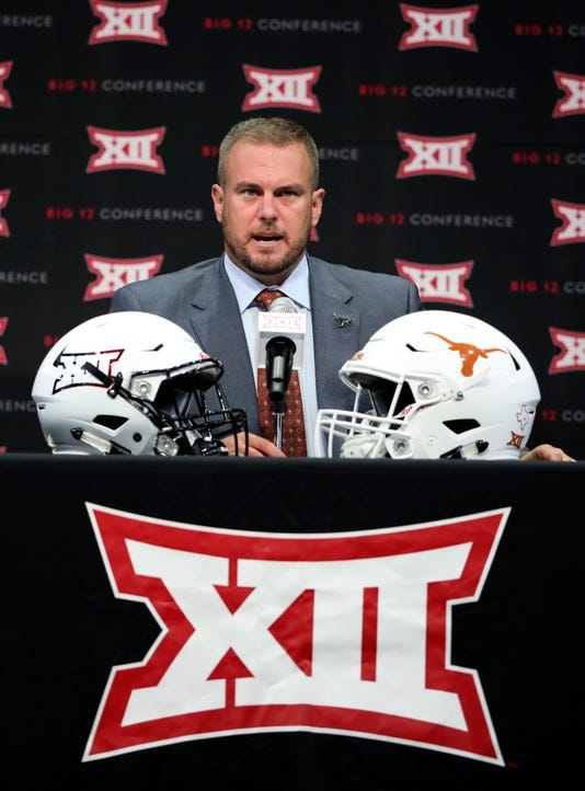 Ncaa Football Big 12 Media Day