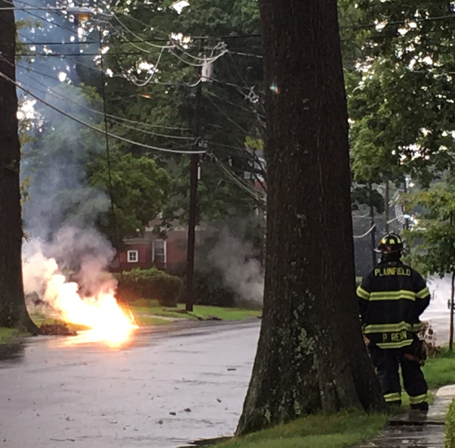 NJ Weather: Flooding, fires with Central Jersey storms