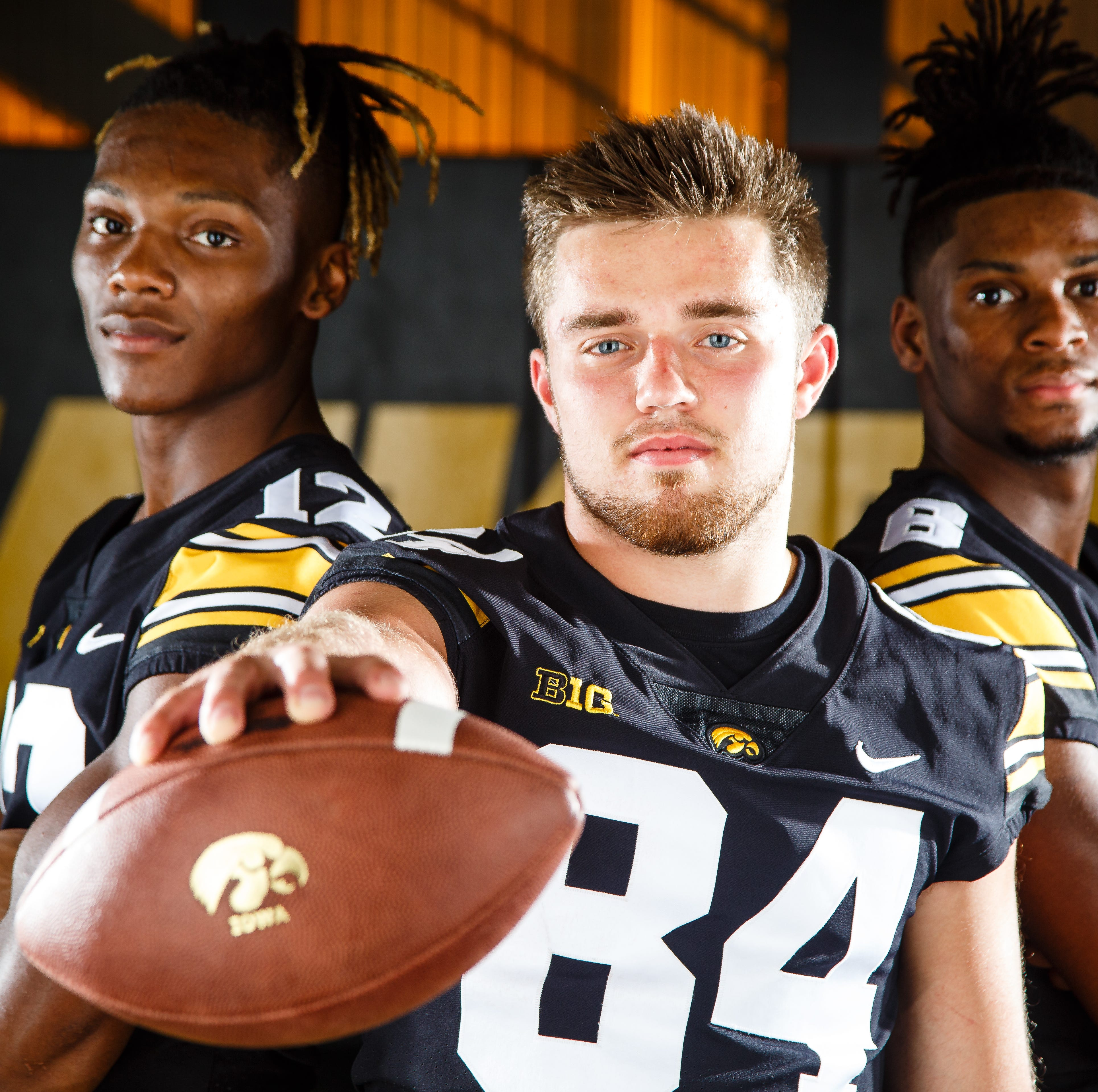 Sizing up Iowa's wide receiver options: Will anyone help out the core four?