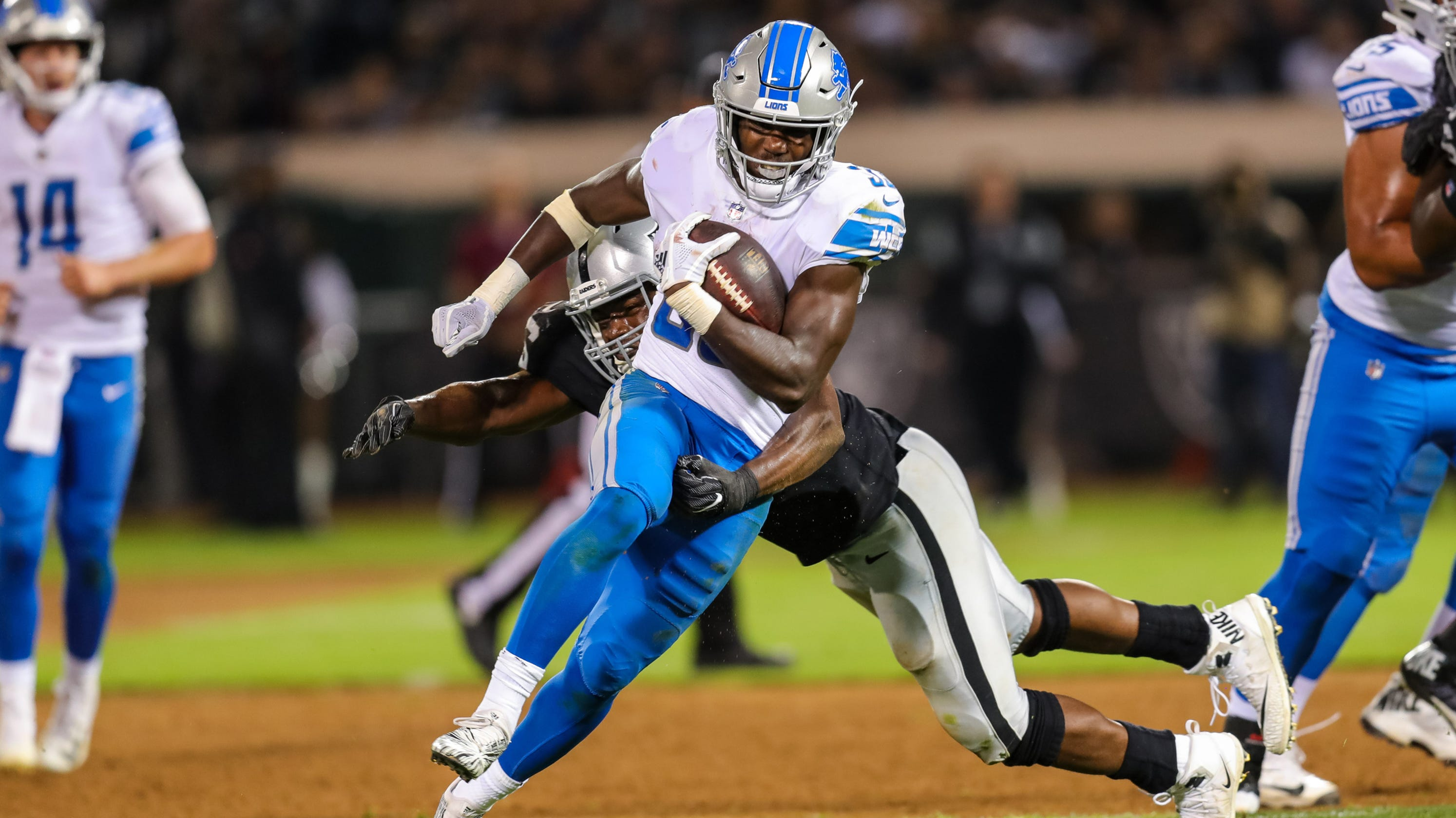 Detroit Lions Offensive Preview Kerryon Johnson The No 1 Back