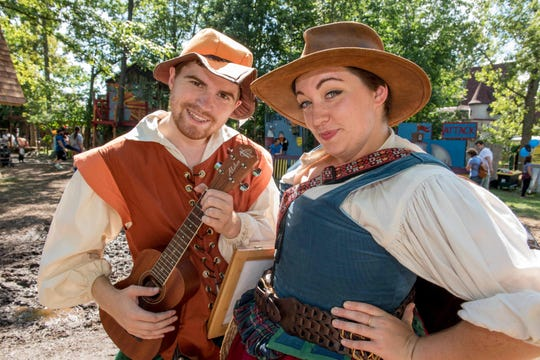 The Michigan Renaissance Festival re-creates the era of Shakespeare and Elizabeth I.