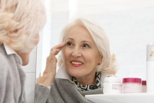 Senior Woman Make Up
