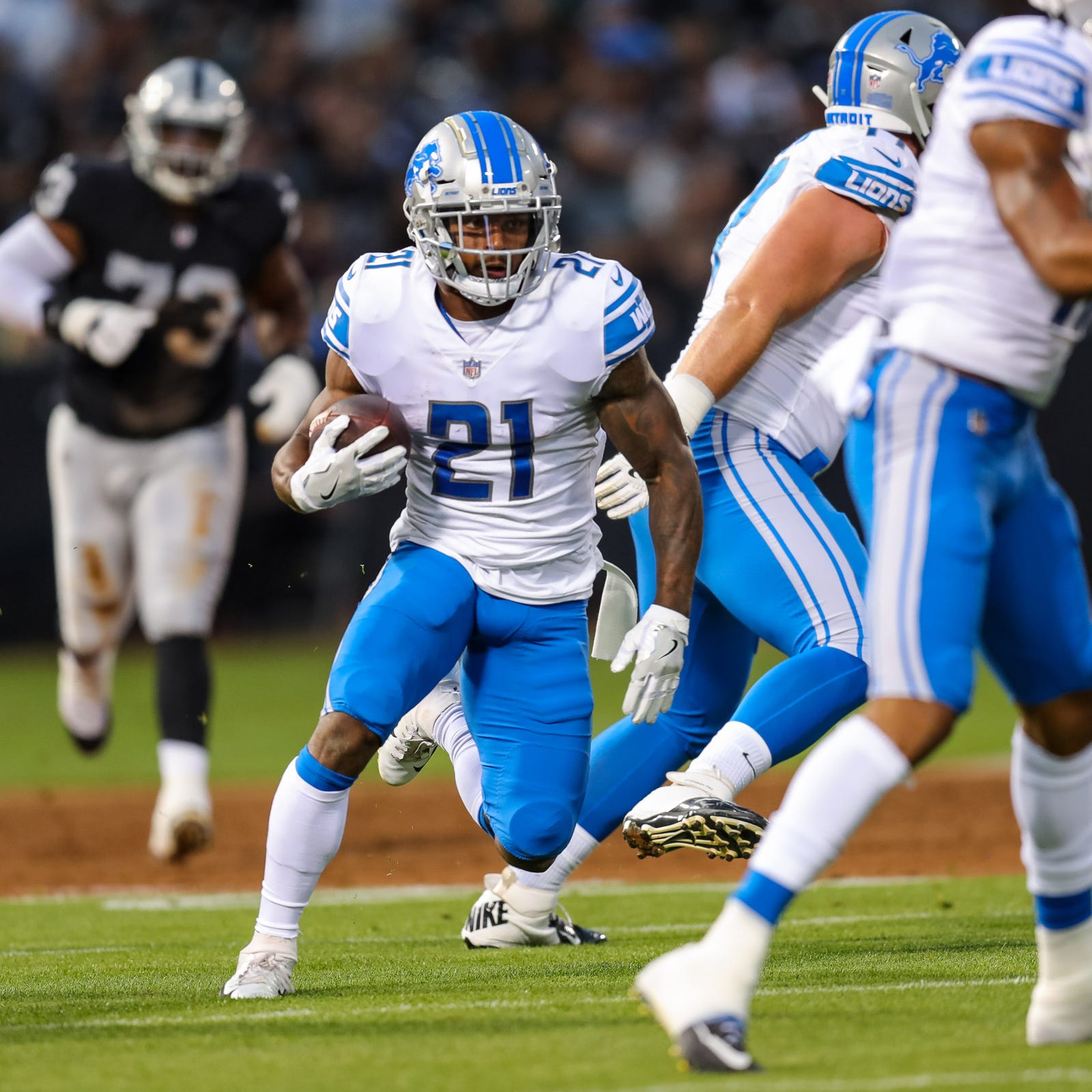 What could Lions get in trade for Ameer Abdullah with logjam at RB?