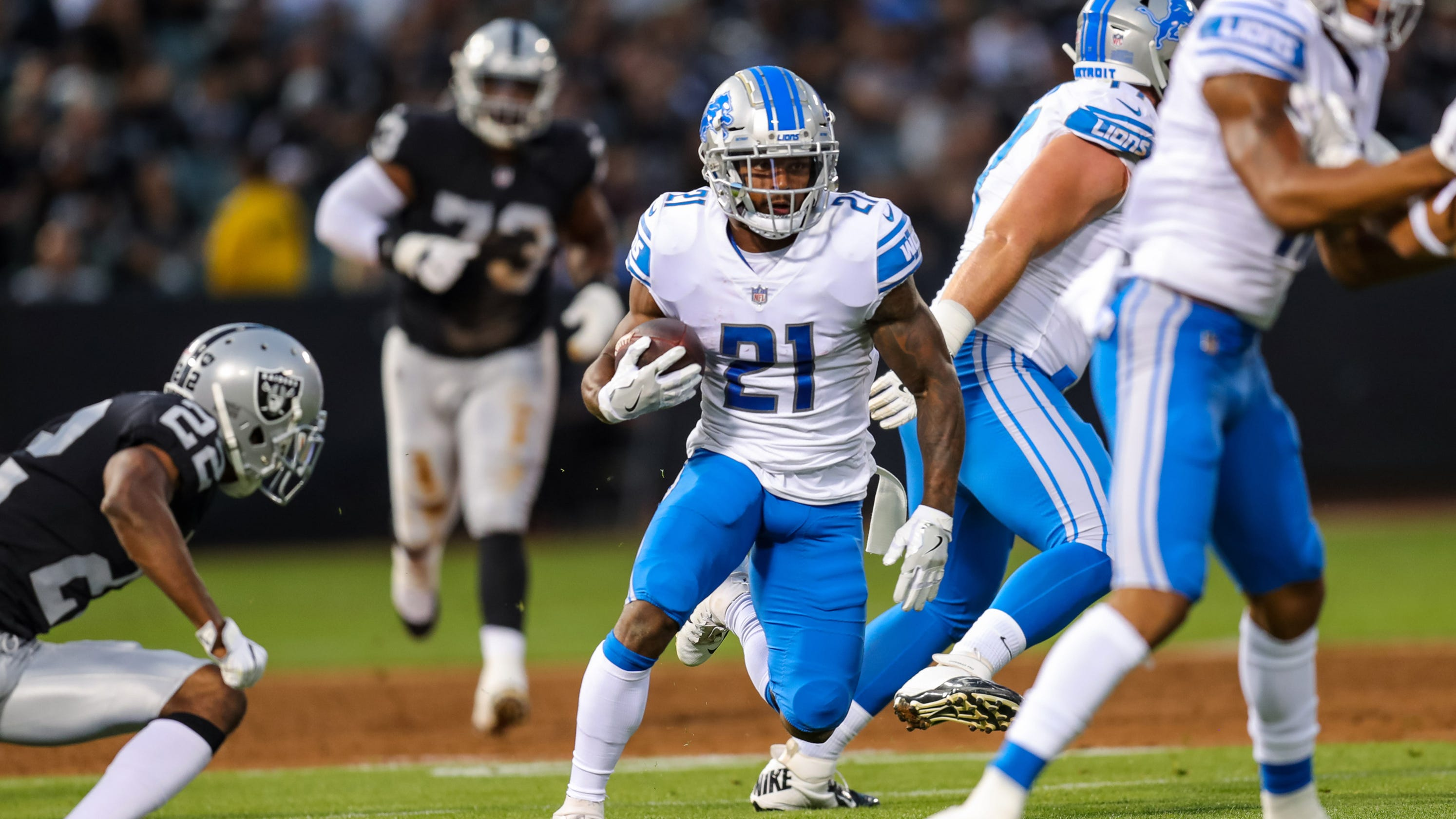 What Could Lions Get In Trade For Ameer Abdullah With Logjam At Rb