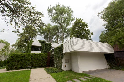 Architect Irving Tobocman\'s home for sale in Birmingham