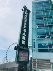 The Shakespeare Theater is on the Navy Pier.