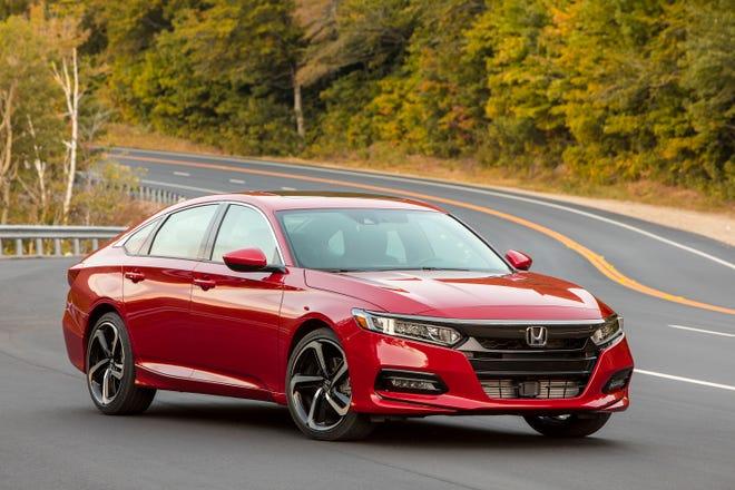 Honda executives say buyers of sedans like the Accord often graduate to its Acura luxury brand.