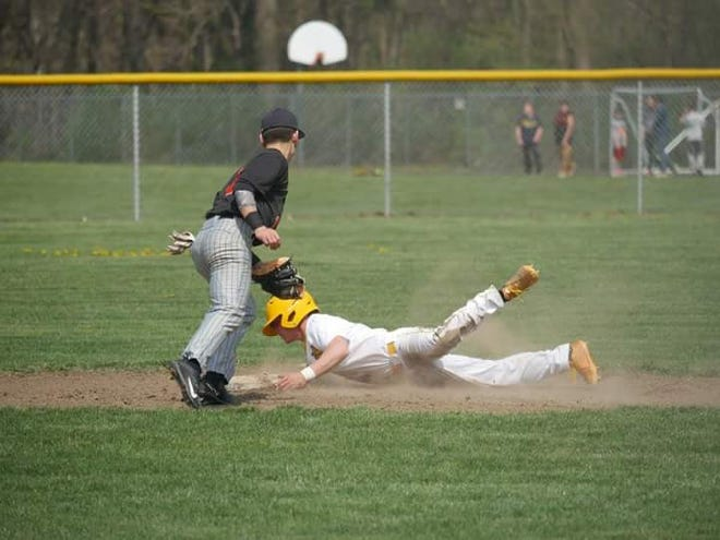 Old Fort's Jacob Webb finished his career with 132 stolen bases, fifth all-time in Ohio.