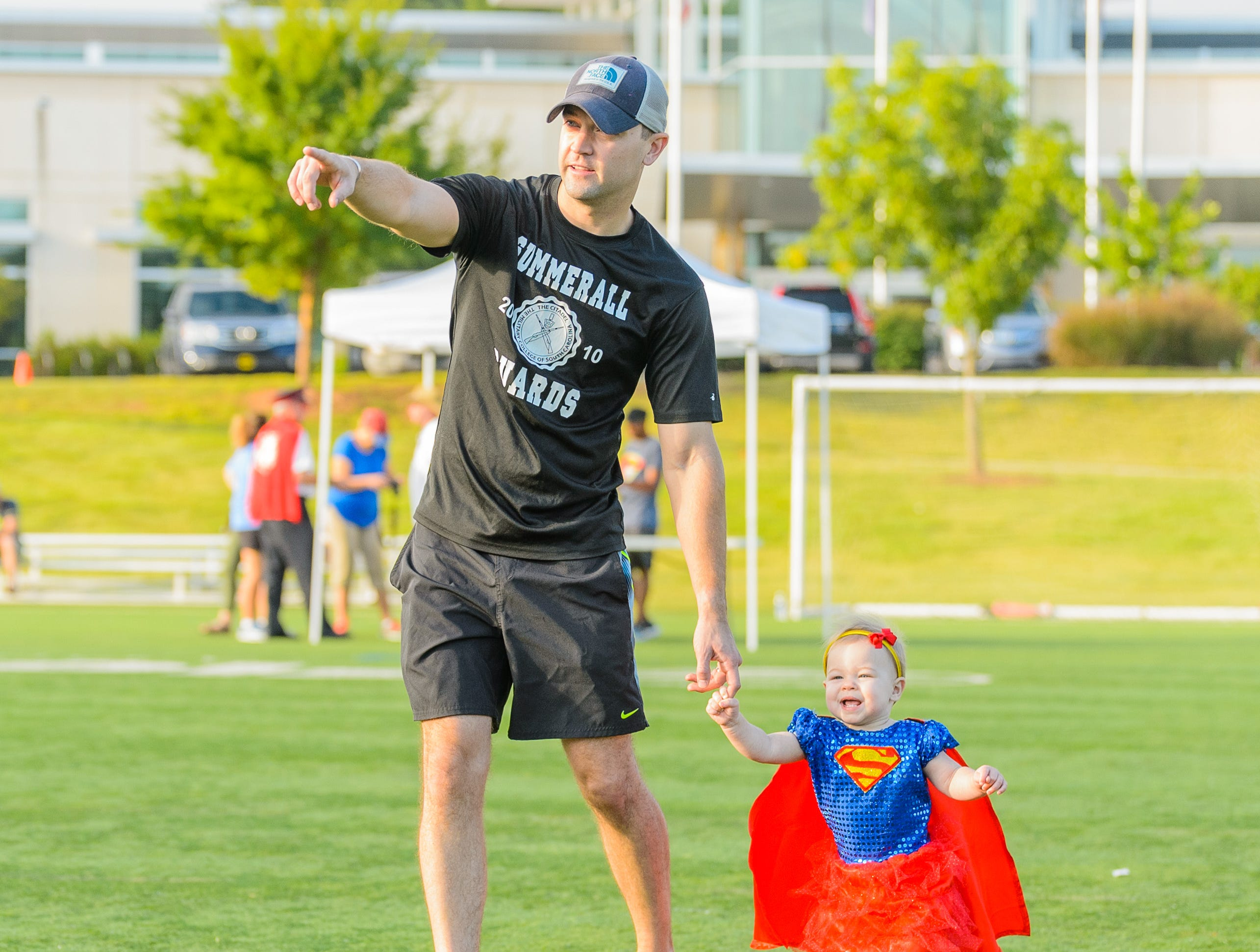 The 4th annual Superhero 5K to benefit The Salvation Army Boys & Girls Club is held on Saturday, August 11, 2018 at the Kroc Center in Downtown Greenville.