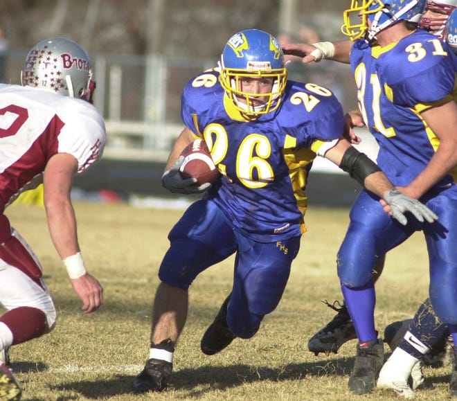Dana Knox led the Fergus High Eagles of Lewistown to the Class A state championship in 2001.