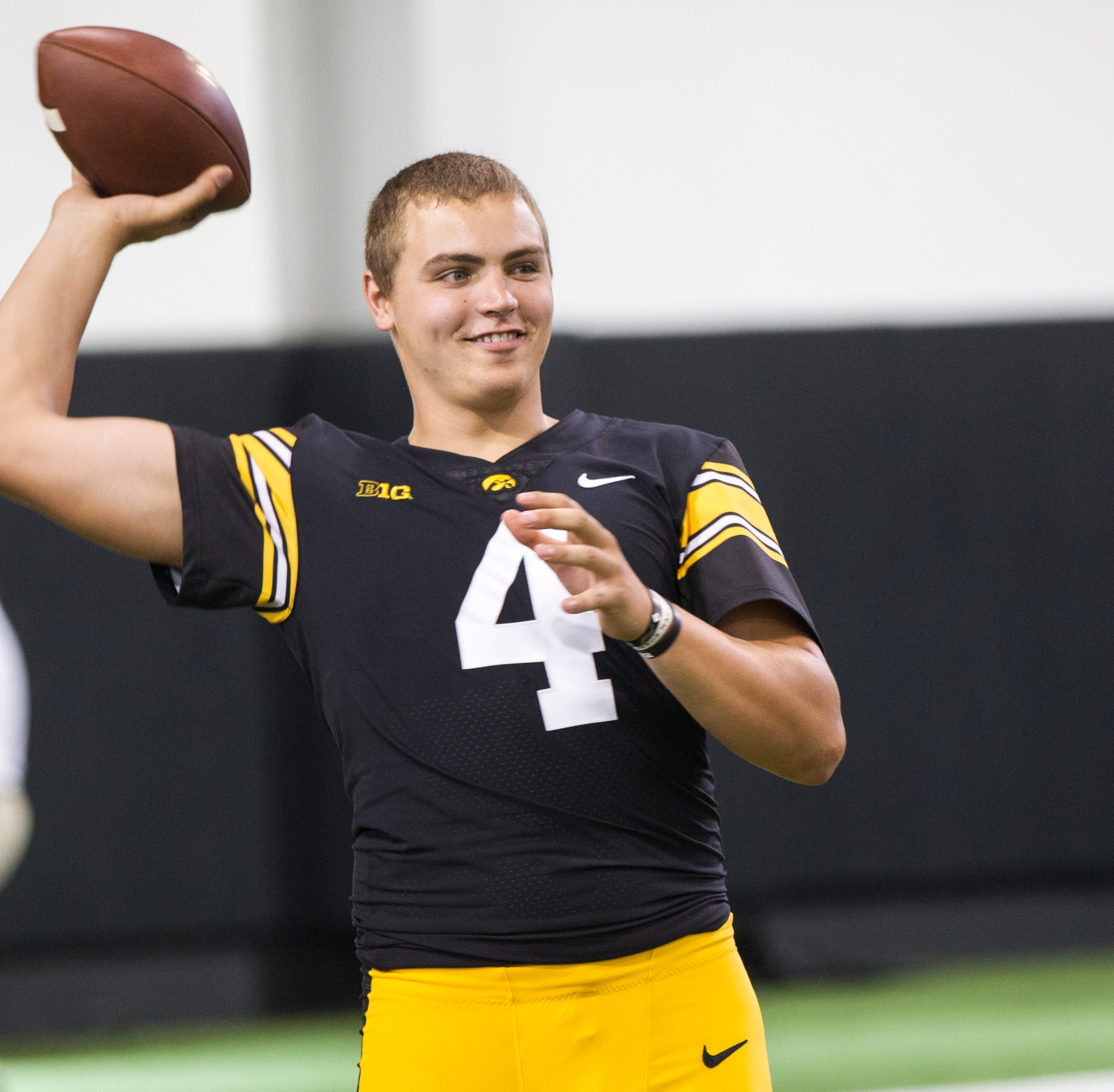 Iowa's Nate Stanley a first-round prospect? This ESPN NFL draft guru thinks he is entering the season.