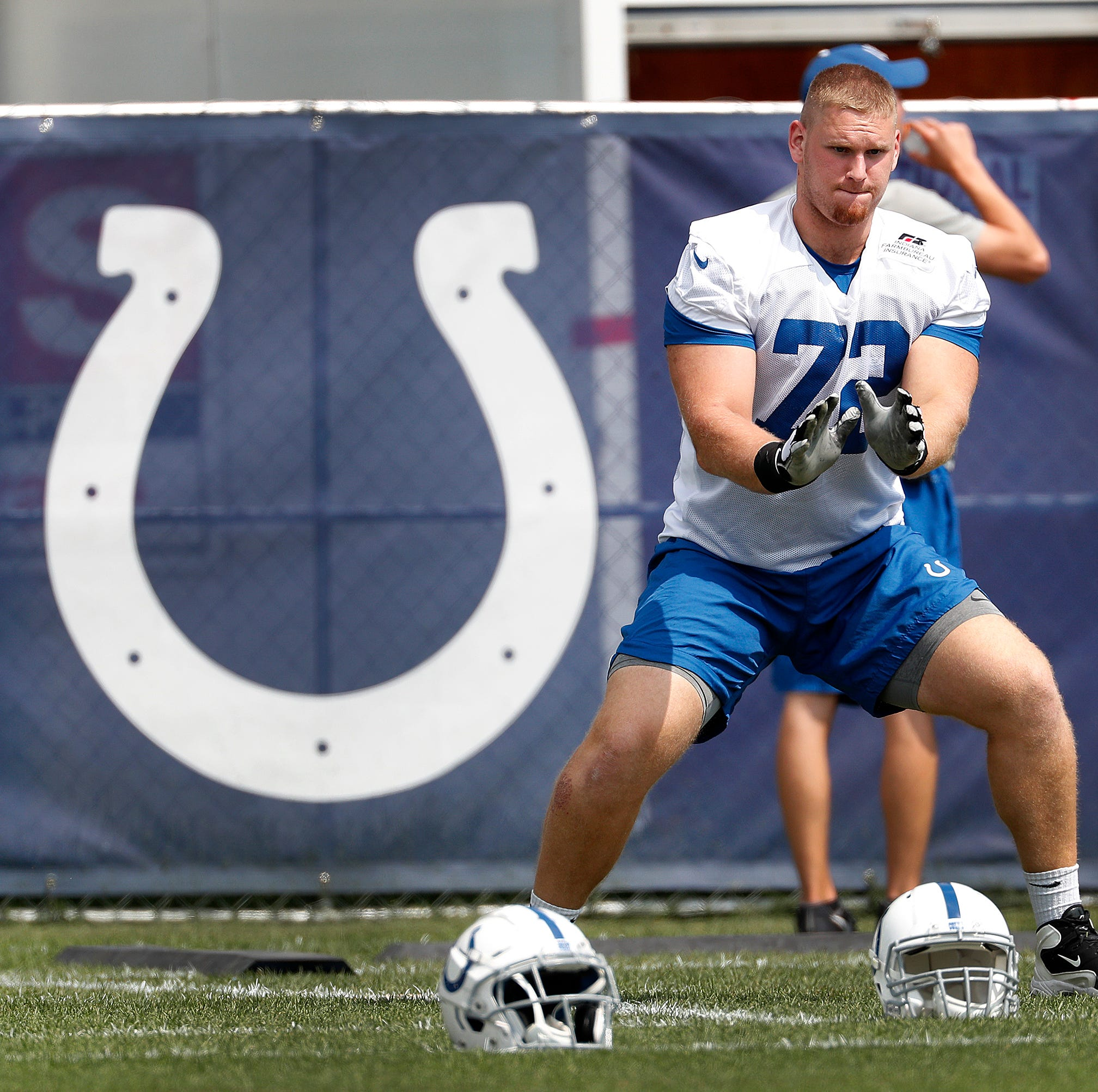 Colts observations: Braden Smith taking his shot at tackle