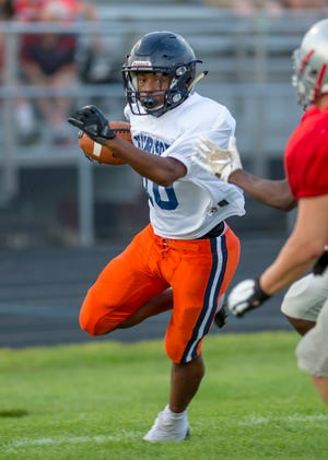 Isaiah Armstrong was the only back with any varsity experience entering the season.