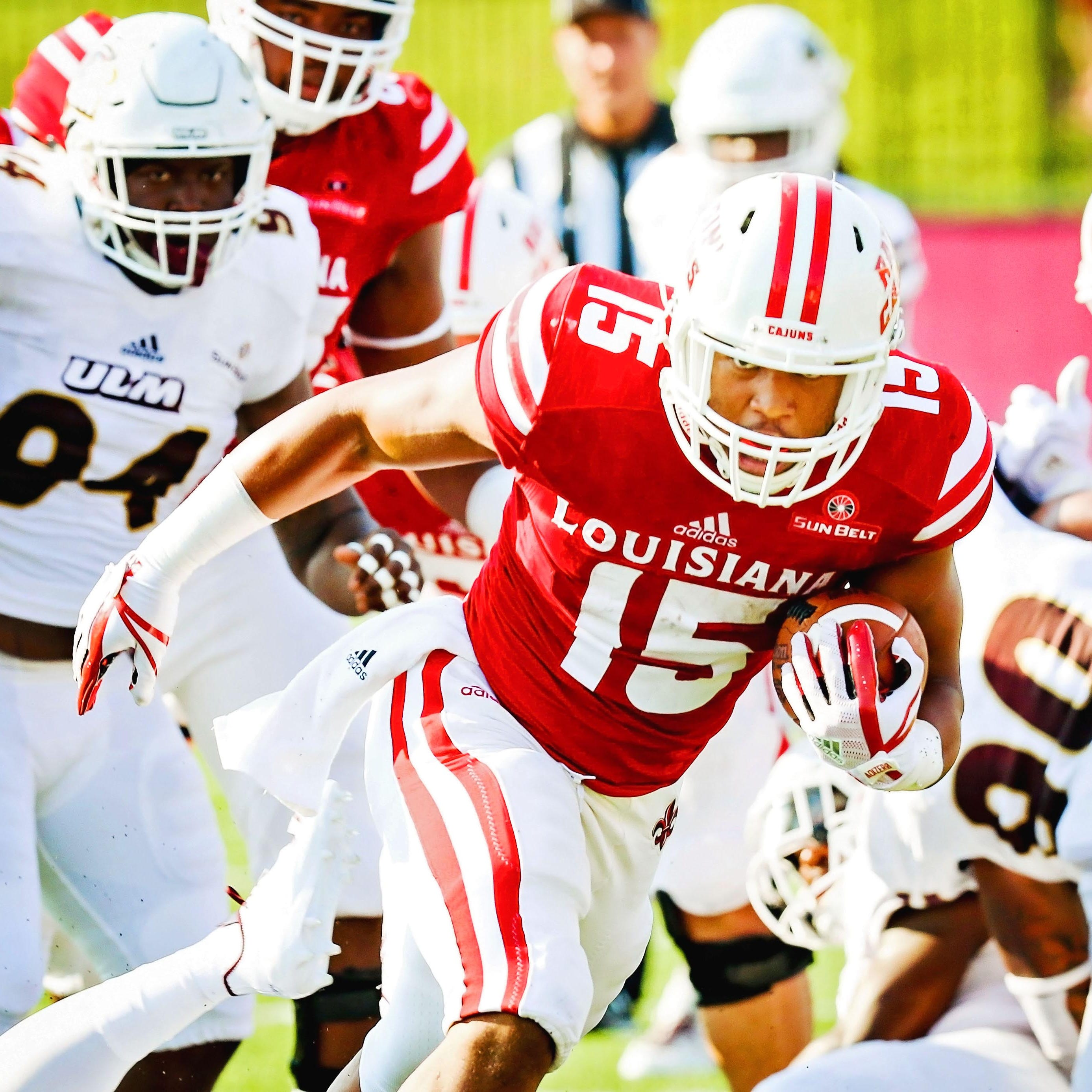 Not rushed to return, UL's Mitchell is running well now