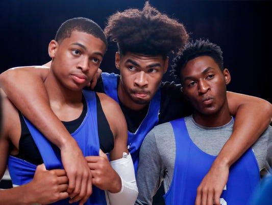 Kentucky basketball Bahamas open practice Nick Richards