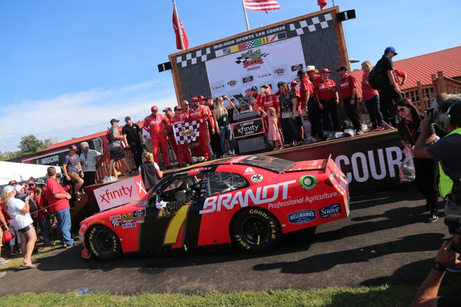 The 2018 Rock N Roll Tequila 170 part of the NASCAR Xfinity series took place at Mid-Ohio in August.
