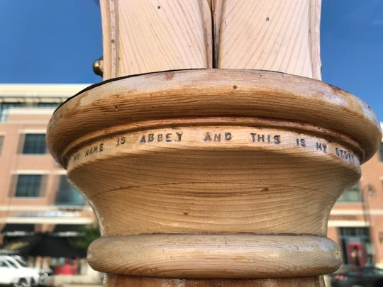 A carpenter etched an ode to his dead bird into the wooden arches outside Three Lions Pub. Some believe the recently-found birdhouse is yet another tribute to his beloved bird.