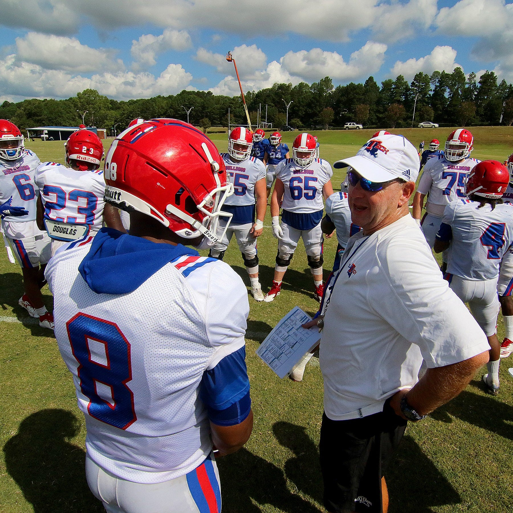 Louisiana Tech's first scrimmage has some good and some bad