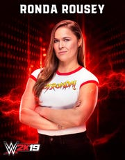 "2K announced that Olympic medalist, feature film actress, UFC Hall of Famer and current WWE Superstar, ""Rowdy"" Ronda Rousey, will make her WWE console video game debut in WWE 2K19, the forthcoming release in the flagship WWE video game franchise."