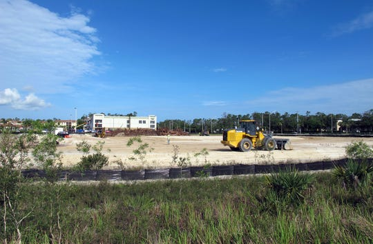 Gates Construction is building a RaceTrac gas station and store on the southwest corner of Collier Boulevard and Rattlesnake Hammock Road in East Naples.