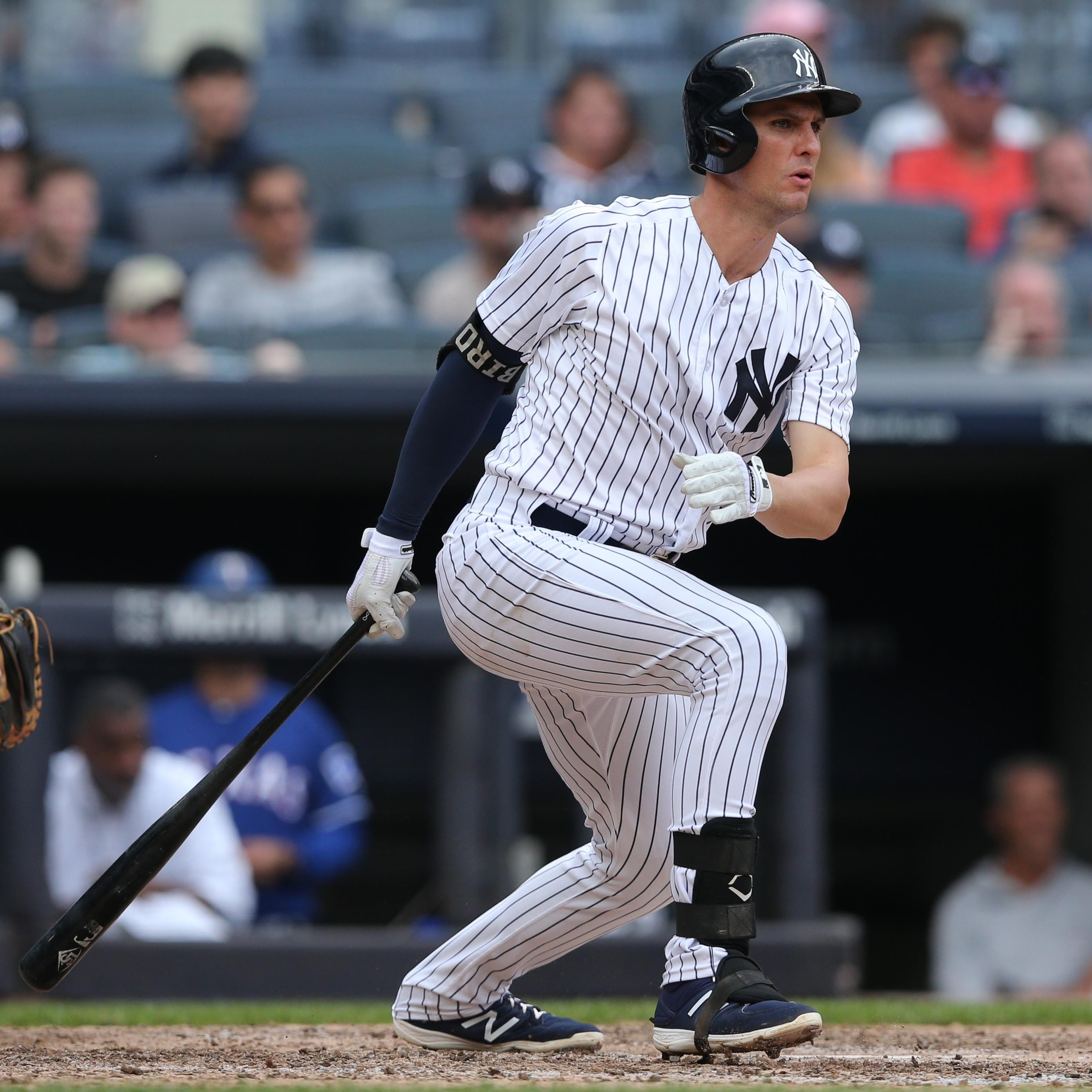 Greg Bird benched for Yankees' series finale against Texas