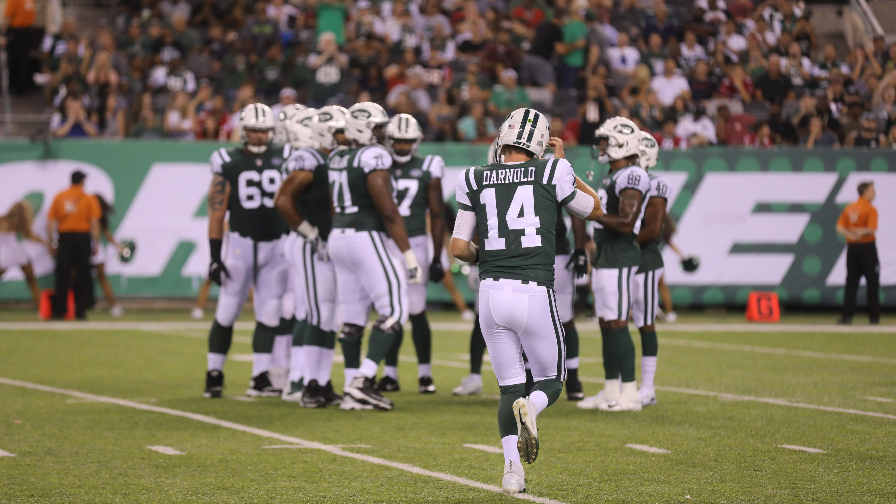 79626267f39 Takeaways, observations from the NY Jets' preseason win over the Falcons