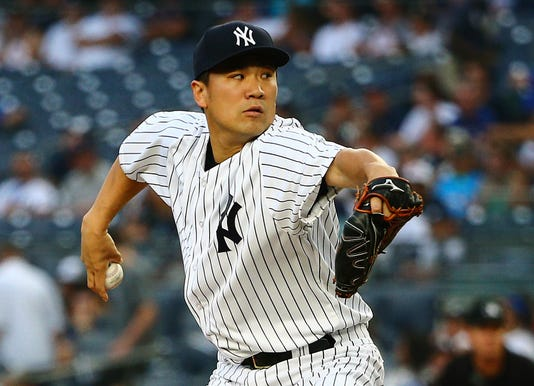 67f67873078 Tanaka hurt by homers in Yankees loss to Texas