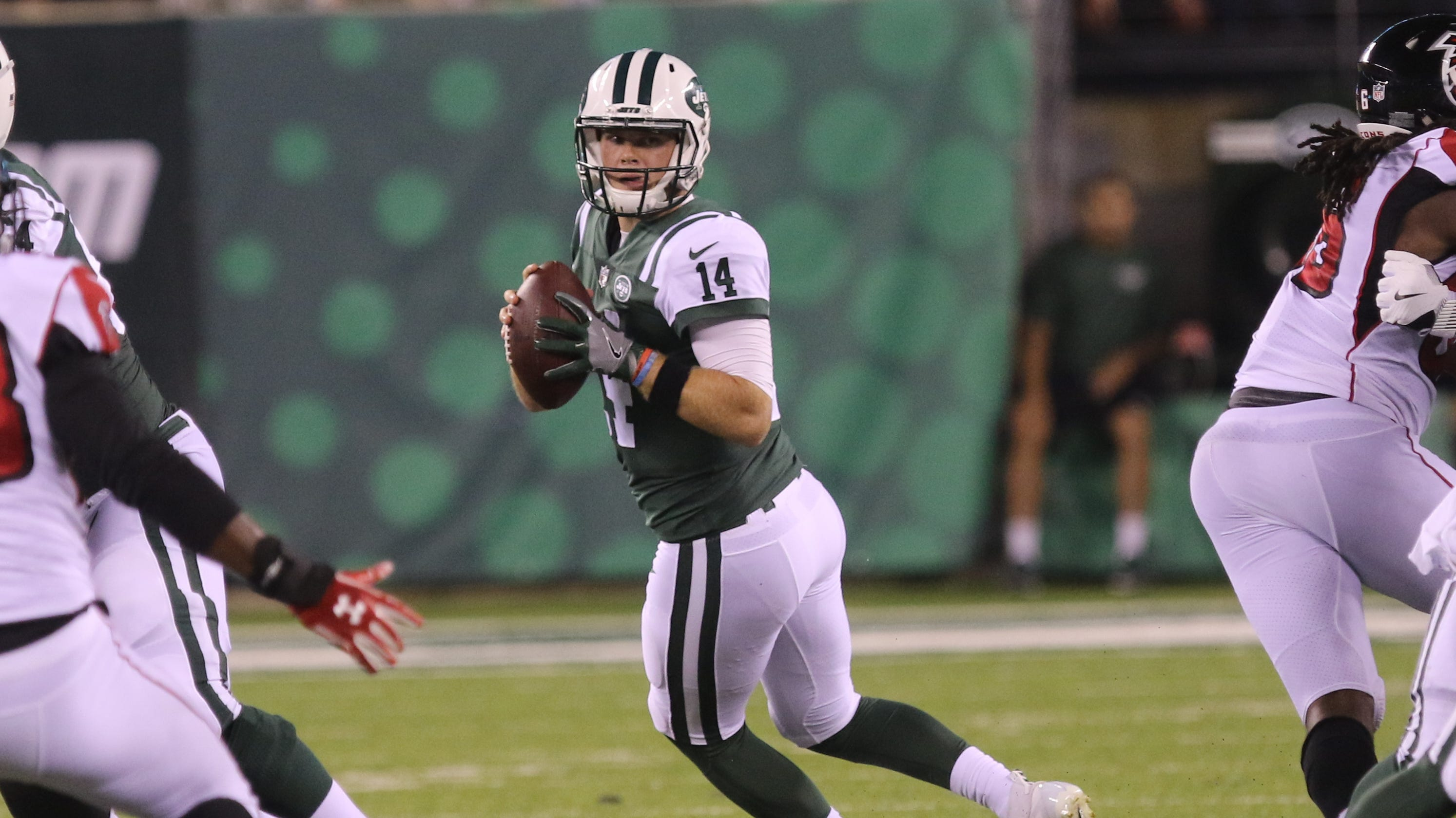 e61053bdc32 Sam Darnold makes Jets preseason debut, how did the NY Jets rookie look?